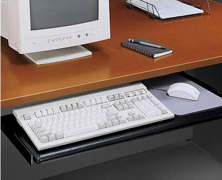 with peel parts desk sophisticated coaster tray computer drawer slides keyboard bla